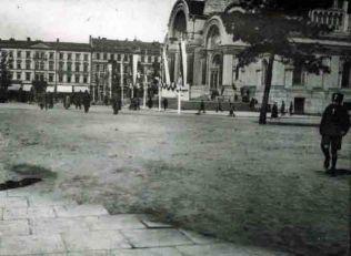 Plac Saski w roku 1923.