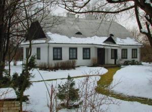 Dworek na Jeziorkiem Czerniakowskim.