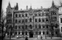 Kamienica Taubenhausa po wojnie.