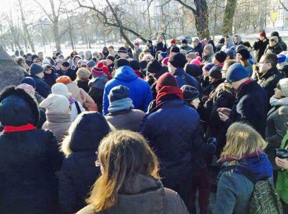Rocznica egzekucji kata Warszawy. Spacer po miejscu akcji, podczas której wykonano wyrok.