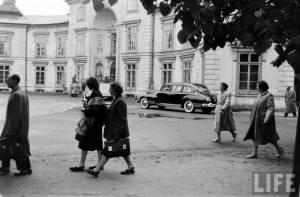 1959 r. Prawdopodobnie wtedy gościł tu wiceprezydent USA Richard Nixon. Żródło zdjęcia: fotopolska.eu