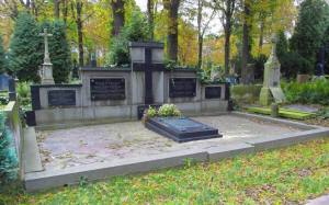 Grób rodziny Michlerów na Cmentarzu Ewangelicko-Augsburskim.