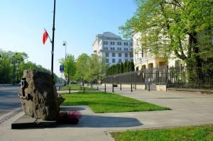 Miejsce wykonania wyroku na Frantzu Kutscherze.