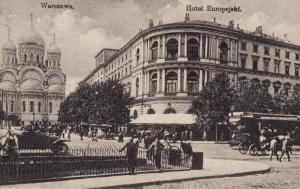 Widok soboru z Krakowskiego Przedmieścia.
