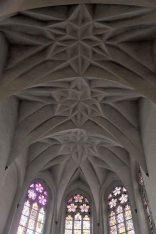 Kętrzyn - Kościół Świętego Jerzego Sklepienie Kryształowe.