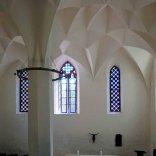 Kryształowe sklepienie na zamku Albrechtsburg.