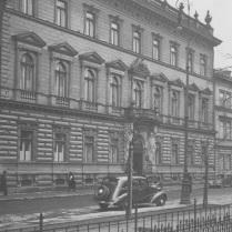 Pałac Szlenkierów przed wojną.