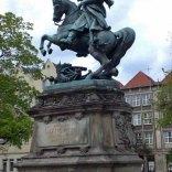 Pomnik króla Jana III Sobieskiego w Gdańsku.