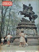 Pomnik króla Jana III Sobieskiego w wilanowskim parku. Okładka Tygodnika Ilustrowanego Stolica z roku 1962.