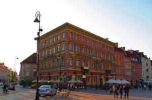 Pierwszy dom handlowy - kamienica Roeslera i Hurtiga.