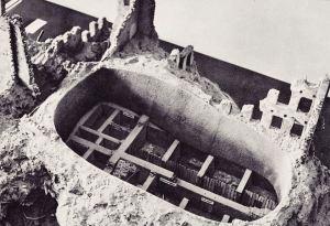 Powojenna rekonstrukcja bunkra ŻOB przy ul. Miłej 18. Foto: wikipedia