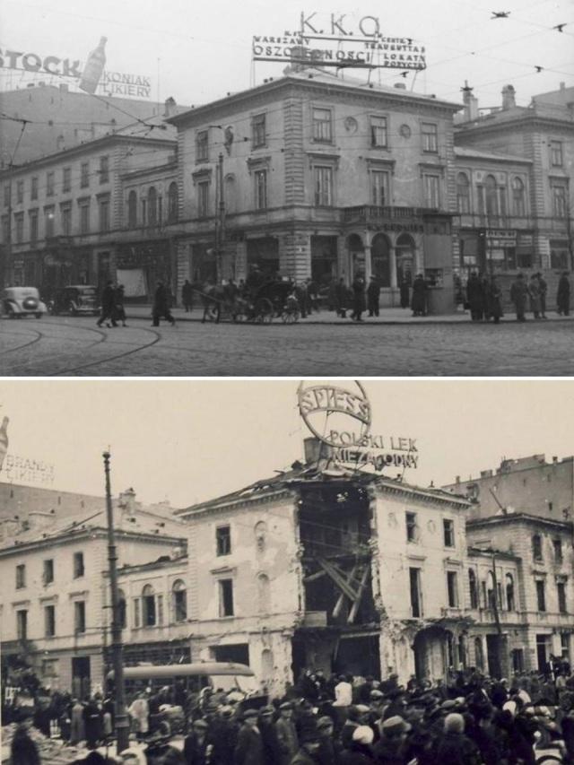 Willa Marconi przed rokiem 1935 i październik 1939.