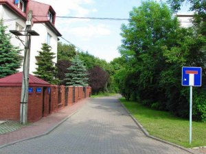 Dzisiaj ulica Klarysewska jest ślepa.