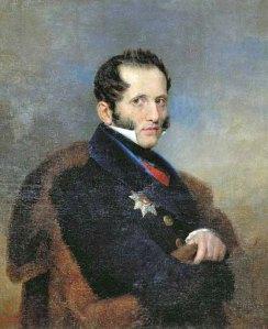 Hrabia Siergiej Uwarow.
