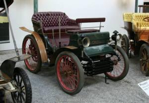 Model Peugeota z 1897. Podobnym podróżował do Paryża Stanisław Grodzki.
