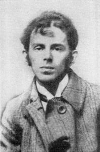 Osip Mandelsztam - zdjęcie z roku 1914.