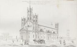 Projekt przebudowy kościoła na Chłodnej.