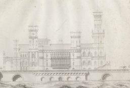 Tak miał wyglądać pałac, którego budowę planowano w Łazienkach...