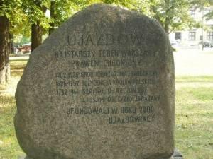 Ujazdów - najstarszy teren Warszawy, prawem chroniony.
