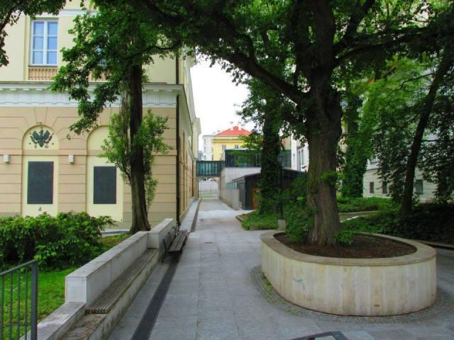 Ulica Osipa Mandelsztama.