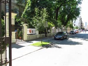 Ulica Foksal. W tym miejscu minister Pieracki wysiadł ze służbowej limuzyny.