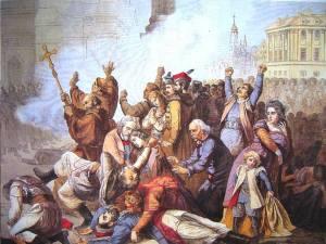 Masakra na Placu Zamkowym 8 kwietnia 1861.