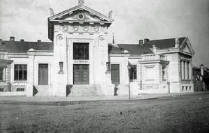 Budynek dawnej kostnicy w roku 1925.