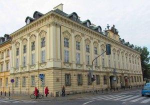 Pałac Biskupów Krakowskich obecnie.
