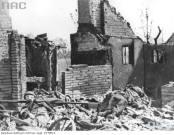 Ruiny Driel i zabici Polacy.