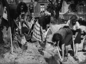Jugosłowiańska Brygada Pracy w akcji.
