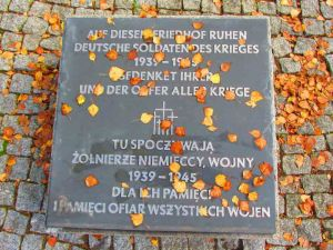 Kwatera żołnierzy niemieckich na Cmentarzu Północnym.
