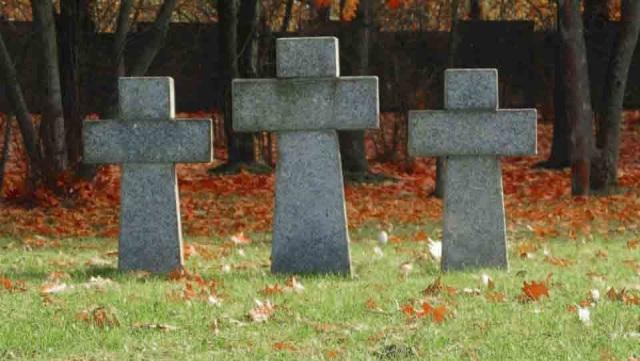 Kwatera żołnierzy niemieckich na Cmentarzu Północnym
