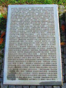 Nazwiska żołnierzy niemieckich poległych w czasie II wojny na terenie Mazowsza. Również w czasie tłumienia Powstania Warszawskiego.