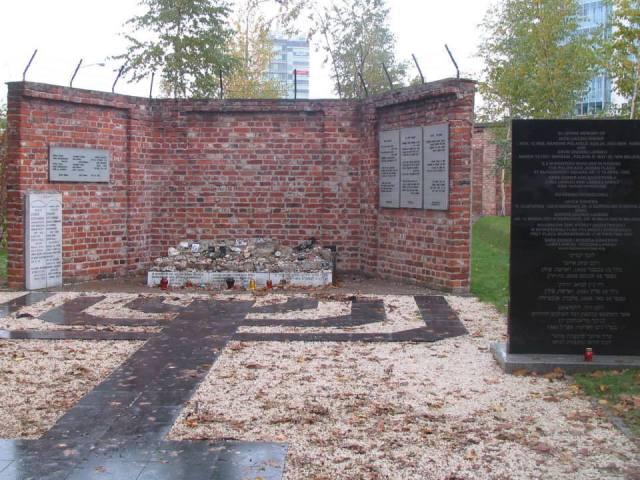 Okopowa - Pomnik Pamięci Dzieci – Ofiar Holokaustu.