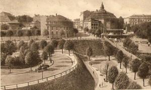 Rotunda przy ulicy Karowej.