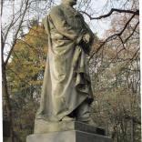 Pomnik Jana Królikowskiego dłuta Bolesława Syrewicza, ustawiony na grobie aktora na Starych Powązkach (2)