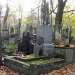 Pomnik Jana Królikowskiego dłuta Bolesława Syrewicza, ustawiony na grobie aktora na Starych Powązkach (4)