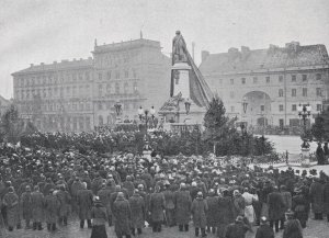 Odsłonięcie pomnika Adama Mickiewicza.