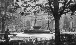Skwer Hoovera w roku 1939.