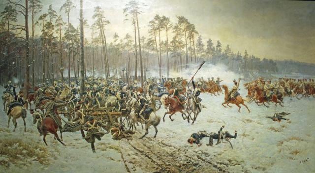 """""""Bitwa pod Stoczkiem"""" Jana Rosena."""