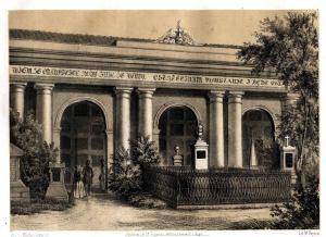 Katakumby na Starych Powązkach przed rokiem 1855. Tu w grudniu 1854 spoczął Minasowicz.