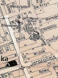 Ulica Moniuszki na planie miasta z drugiej dekady XX wieku