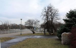 Widok w kierunku Placu na Rozdrożu.