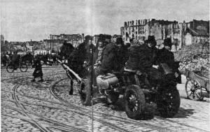 Furmanka była podstawowym środkiem transportu przez pierwsze powojenne lata.