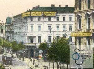 """Kamienica Lothego i hotel """"Wiedeński""""."""