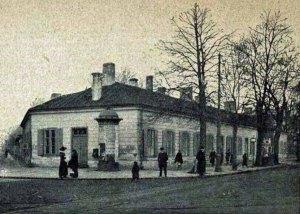 Pałacyk w roku 1914 Źródło: Biblioteka Narodowa