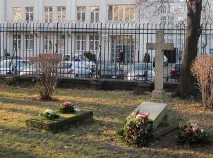 Groby generałów Tadeusza Korsaka i Jakuba Jasińskiego