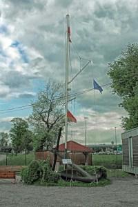 Kotwica z ORP Bałtyk.