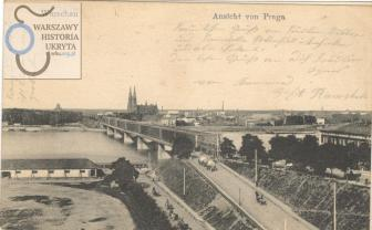 Z pomysłu przeprowadzenia kolei przez miasto szczęśliwie zrezygnowano niemniej most został zbudowany.