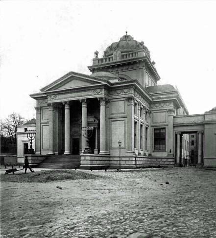 Wielka Synagoga. Zdjęcie: Architekt 1902 rok.